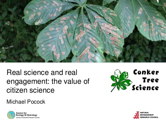 Real science and realengagement: the value ofcitizen scienceMichael Pocock