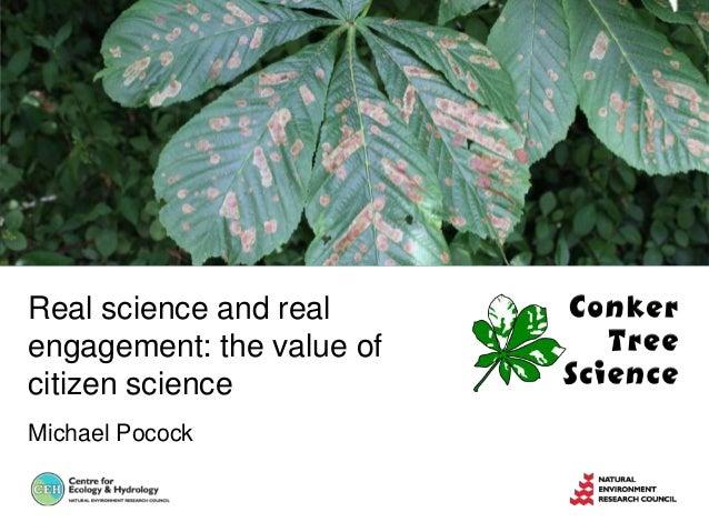 SCC2013 - Citizen Science - Michael Pocock