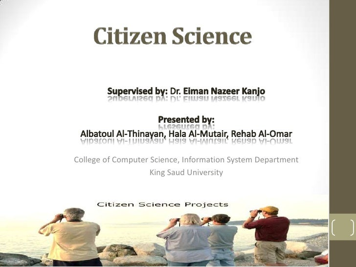College of Computer Science, Information System Department                    King Saud University