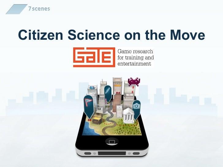 Citizen Science for smartphones