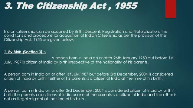 indian nationality law