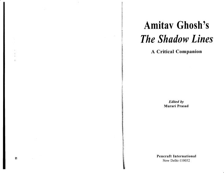 Citizenship in a Transnational Age: Culture and Politics in Ghosh's The Shadow Lines