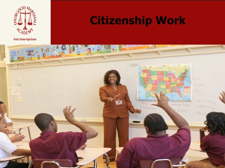 Citizenship Work Lesson