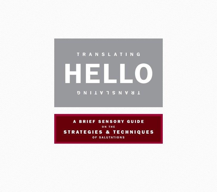Citizen Translation Guide