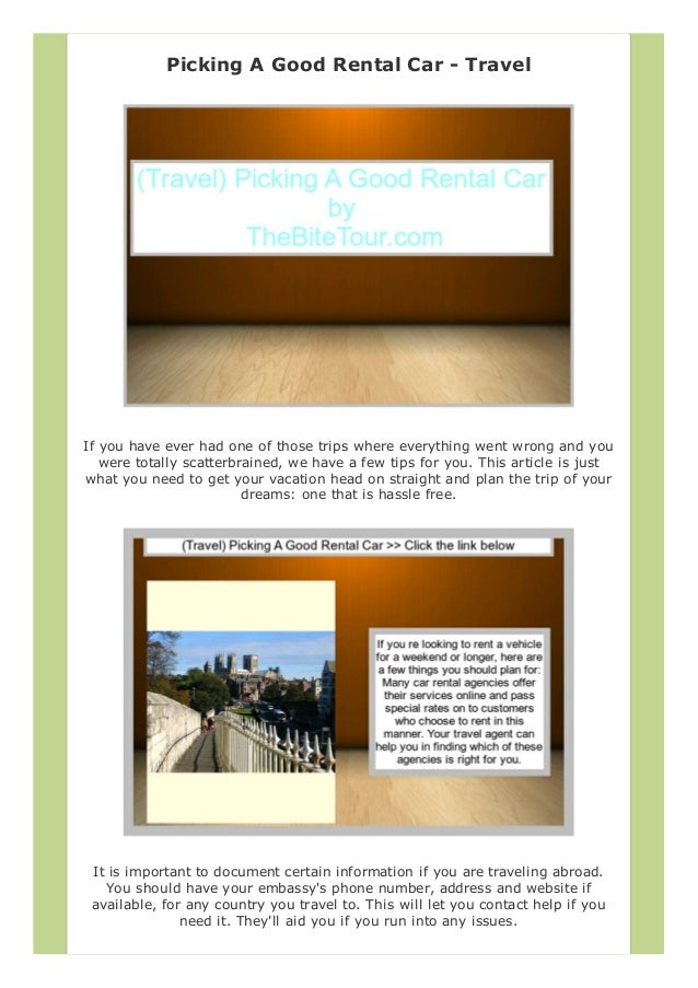 Vacation rental business plan