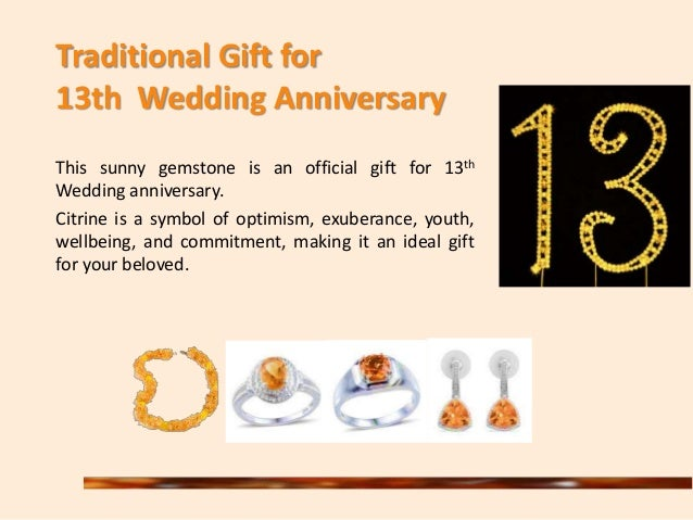 Wedding Anniversary Gifts 13th Year : Citrine an Alluring Yellow Gemstone