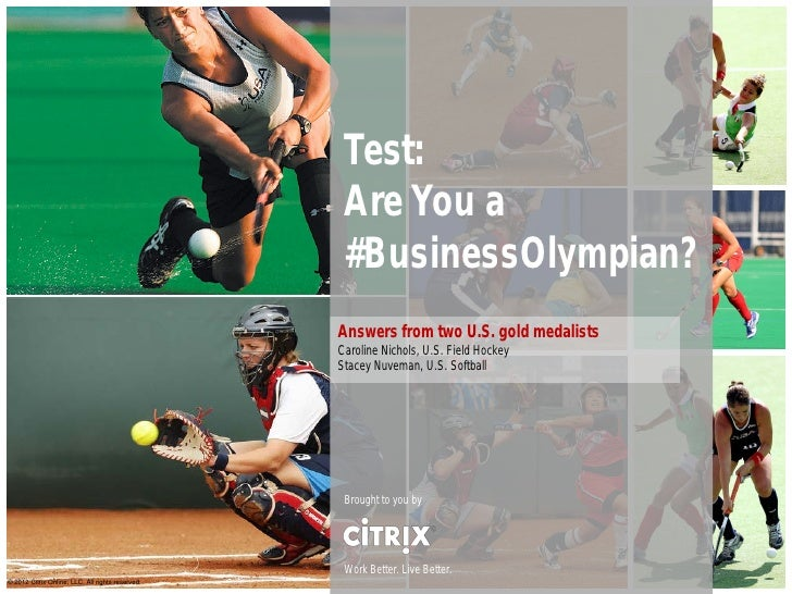 Are You a Business Olympian?