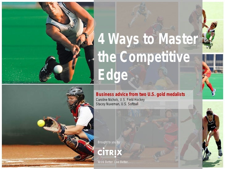 4 Ways to Master                                                   the Competitive                                        ...