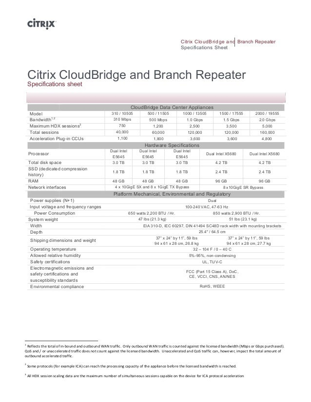 Citrix CloudBridge and Branch Repeater                                                                                    ...