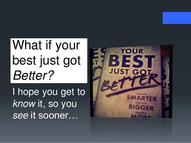 Your Best Just Got Better - a webinar for Citrix