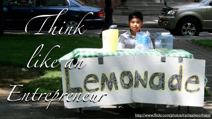 Think Like an Entrepreneur for Citrix & BNET 04/13/11