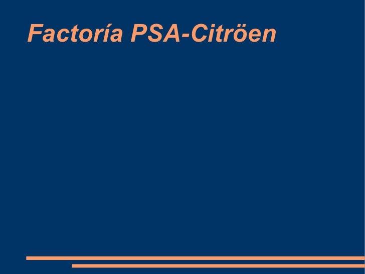 Factoría PSA-Citröen