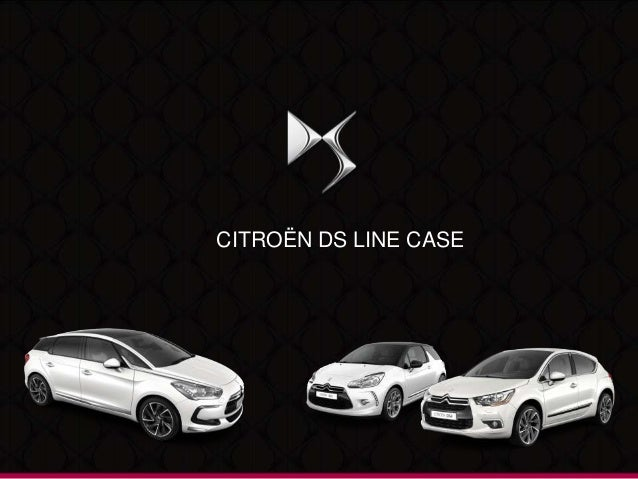 CITROËN DS LINE CASE