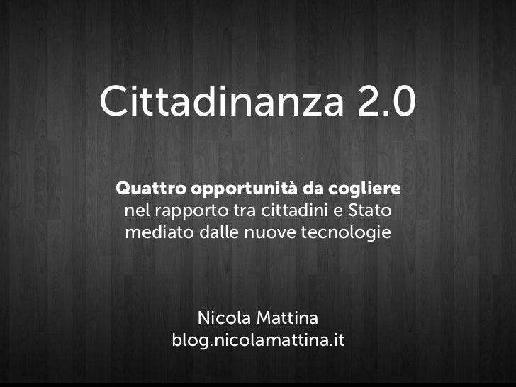 Cittadinanza 2.0