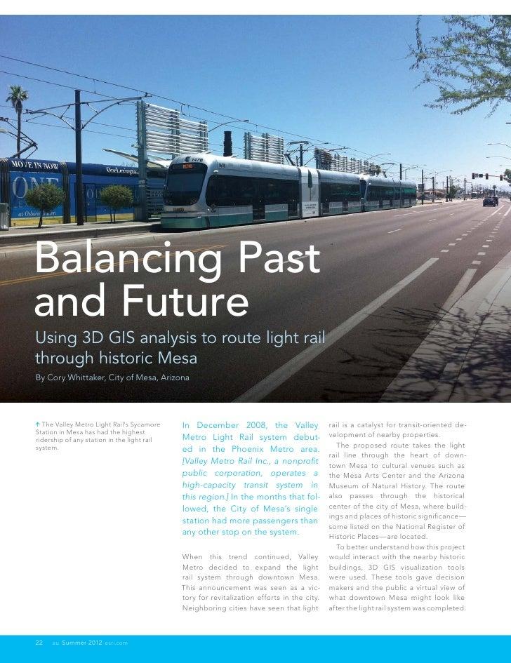 Balancing Past and Future
