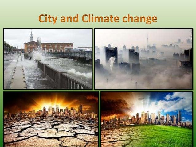 City and cliamte change
