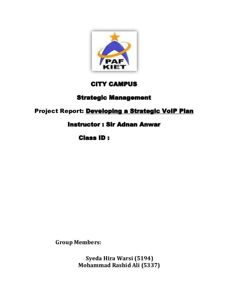 City campus proj