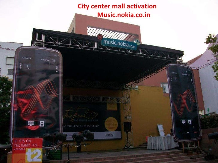 City Center Mall Activation Music.Nokia.Co.In