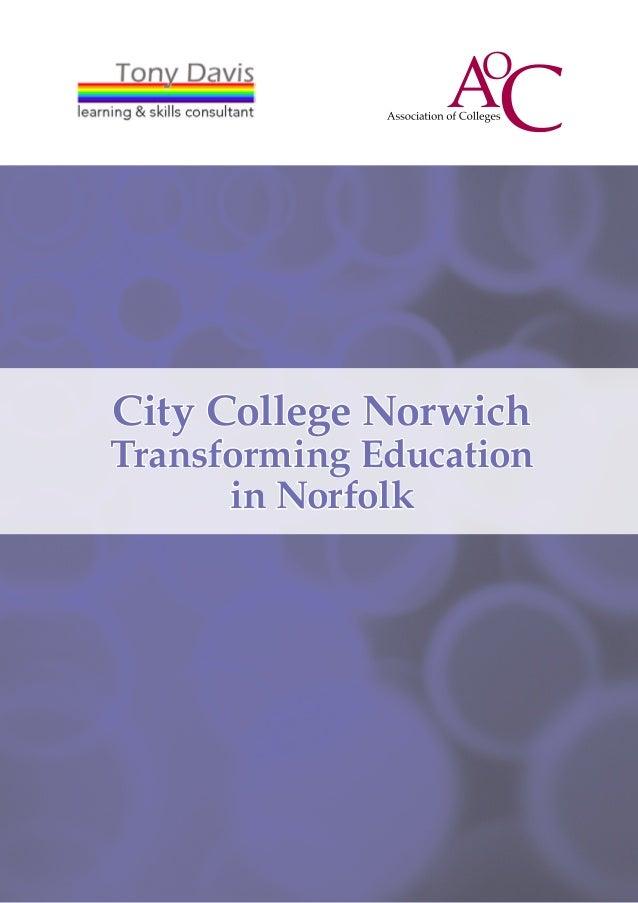 Transforming Education in Norfolk
