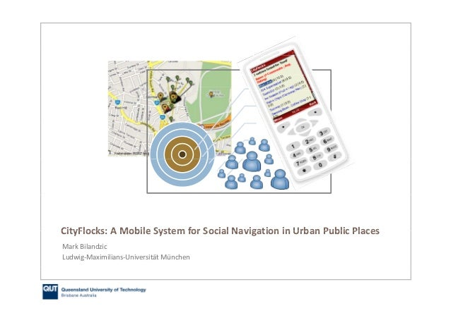 CityFlocks: Designing Social Navigation for Urban Mobile Information Systems
