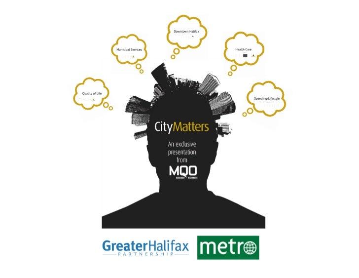 CityMatters - MQO Presentation