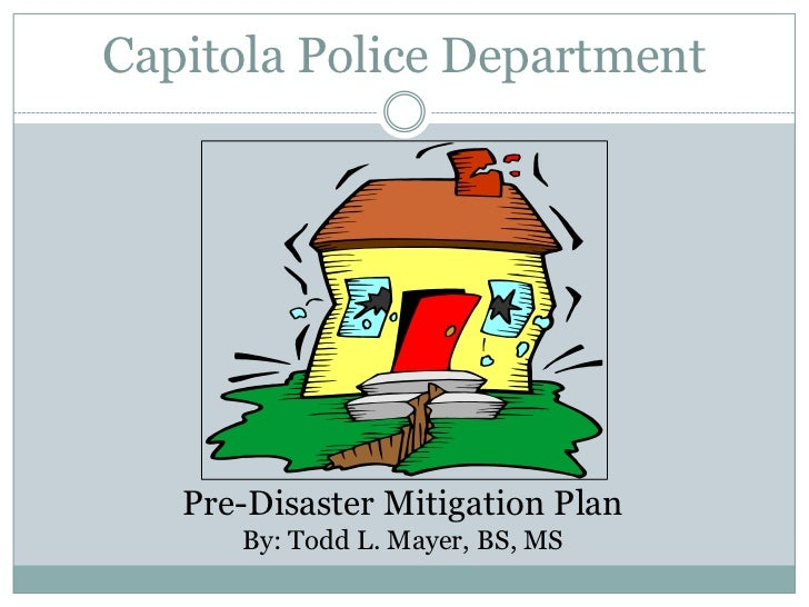 City Of Capitola Hazard Mitigation 2010