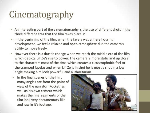 What films are good for analyzing cinematography?