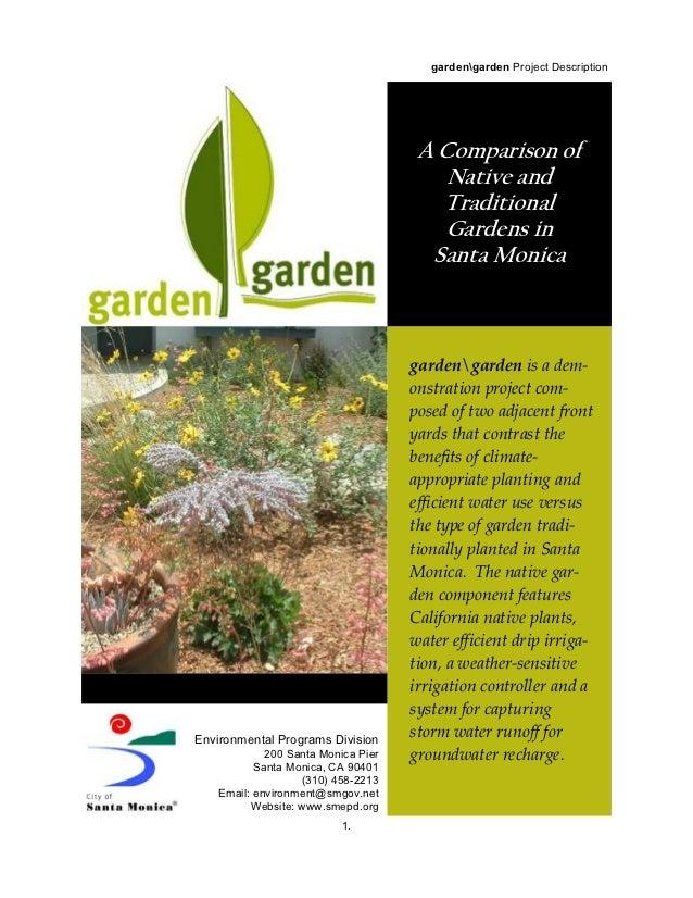 gardengarden Project Description                                                       !                                  ...