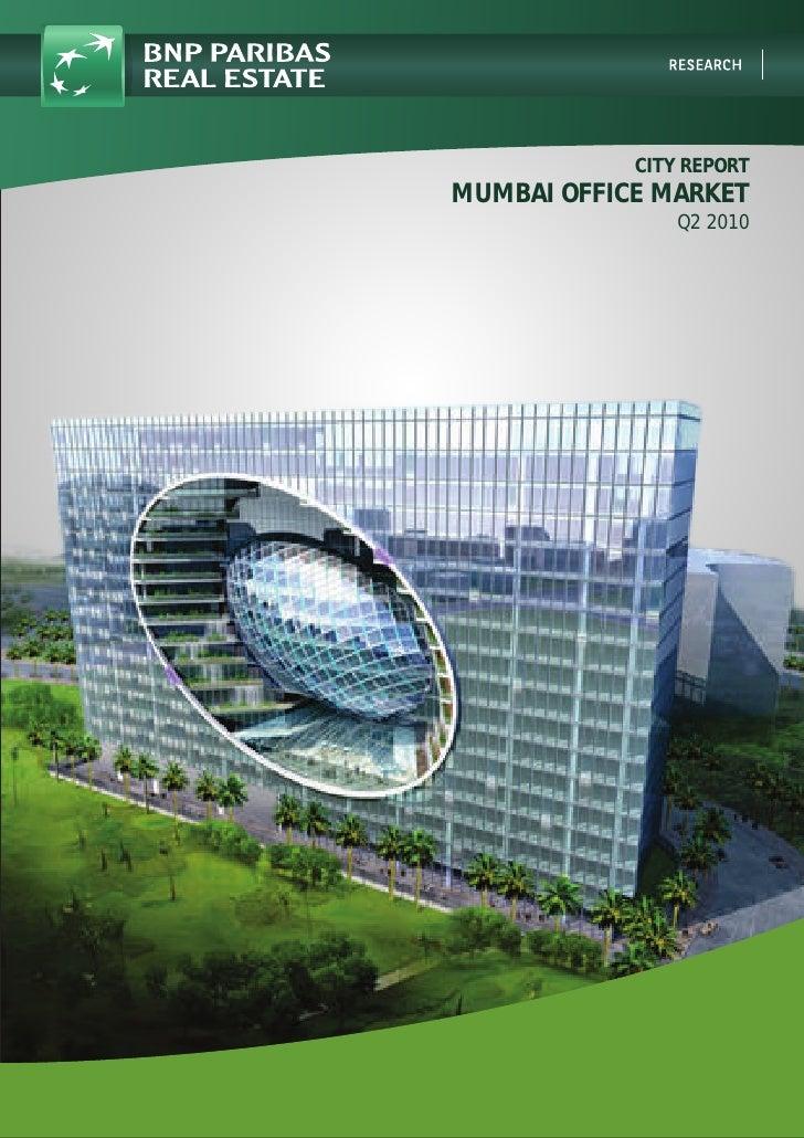 City Report   Mumbai Office Market   Q2 2010