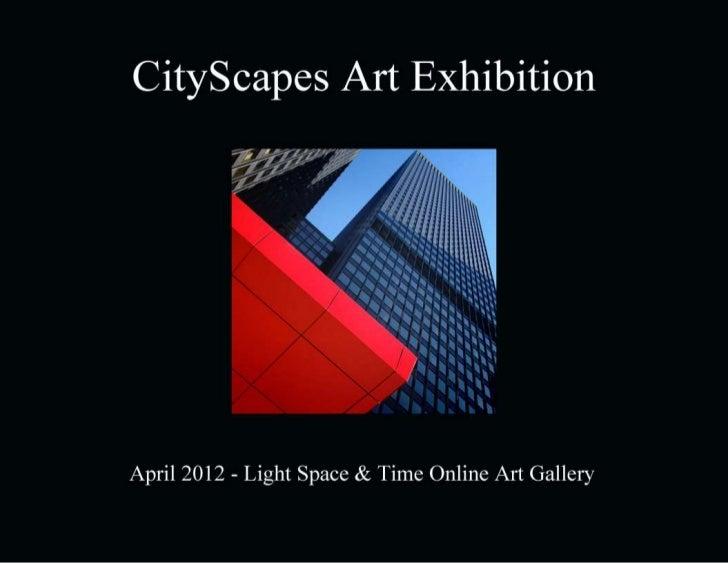 CityScapes Art Exhibition Event Catalogue