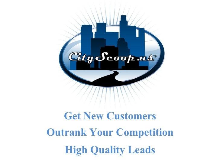 City Scoop's Internet Advertising Company Marketing Video