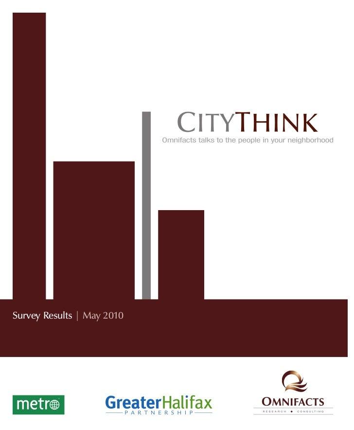 Survey Results   May 2010