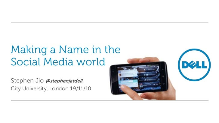 Citizen Journalism and Making a Name in Social Media
