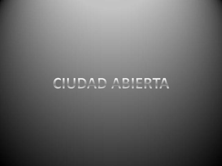 Ciudad Abierta