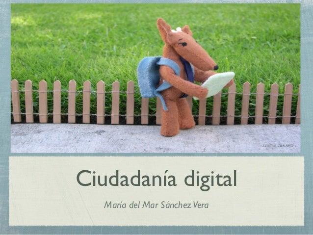 327377643_711818a972_oCiudadanía digital   María del Mar Sánchez Vera