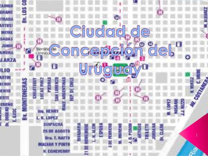 Ciudad de Concepción del Uruguay <br />1<br />