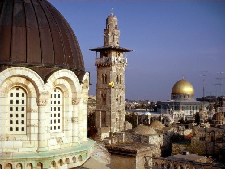 Loking Out on the Dome, Jerusalem, Israel