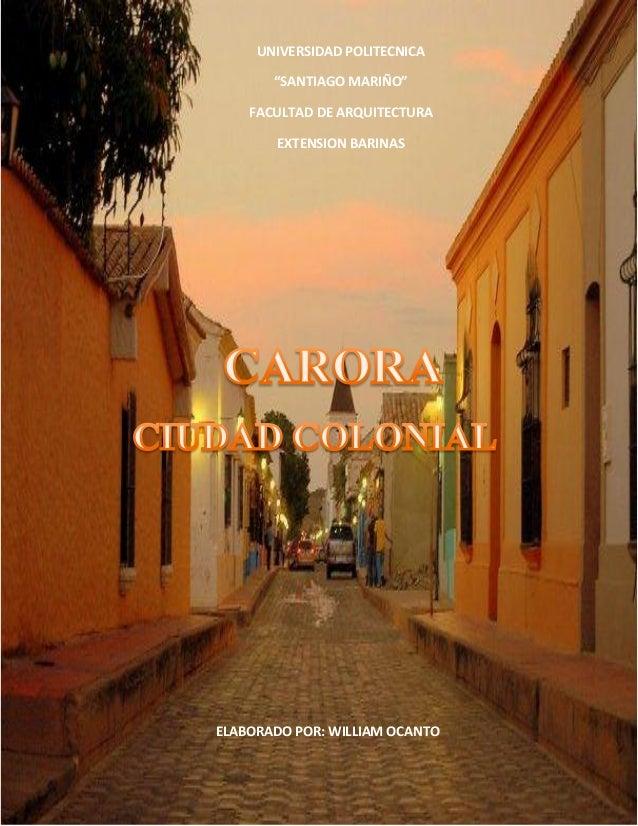 Ciudades coloniales