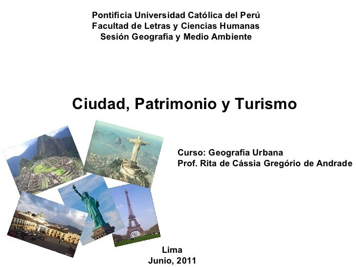 Ciudad y turismo