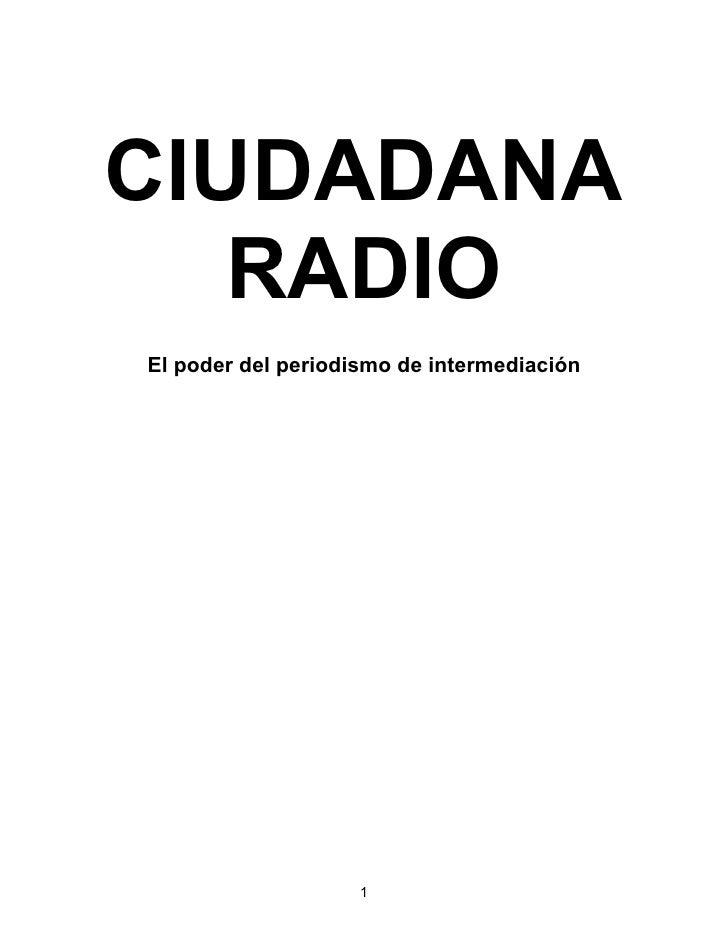 MANUAL PARA RADIO CIUDADANA