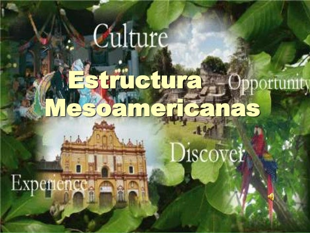 EstructuraMesoamericanas