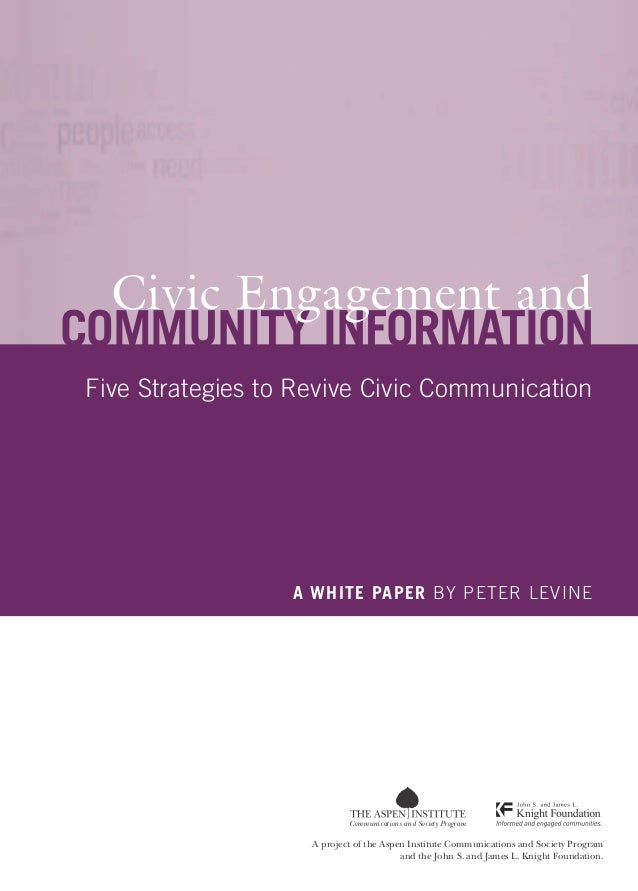 Civic engagement and_community_information_five_strategies