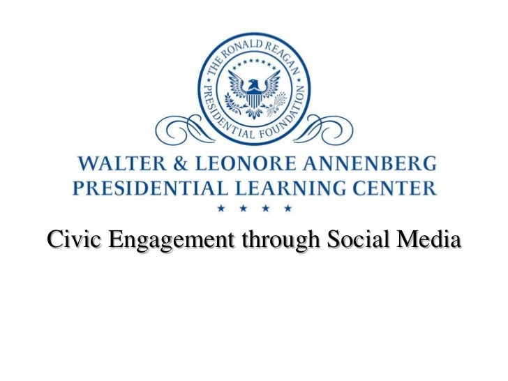 Civic Engagement through Social Media<br />