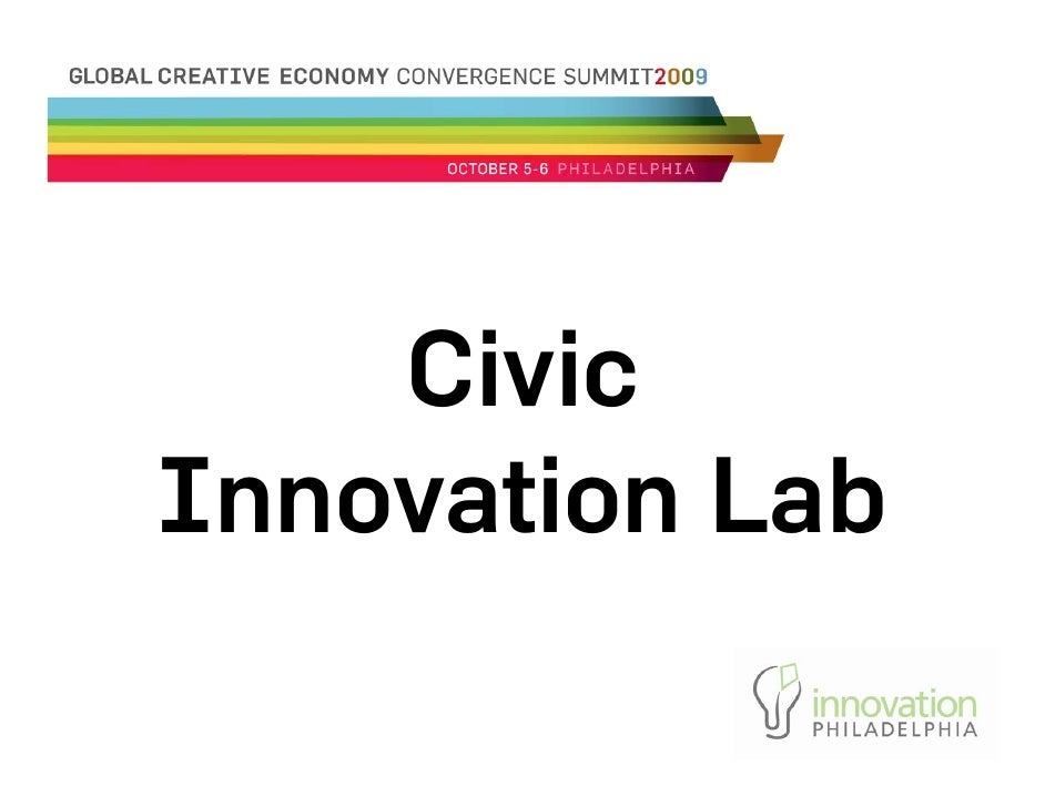 Civic Innovation Lab