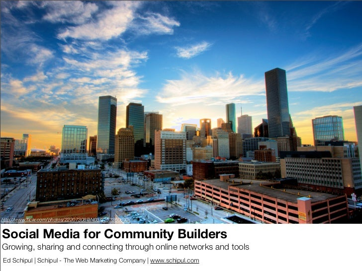 Social Media for Civic Leaders and Community Builders