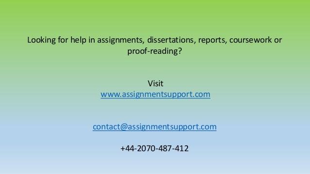 Expert assignment writers