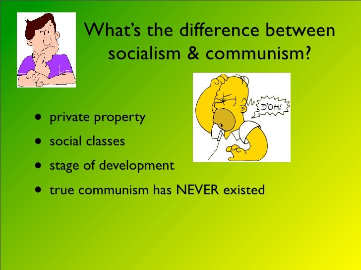 Demonstration Difference Socialism Communism Lesson Plan