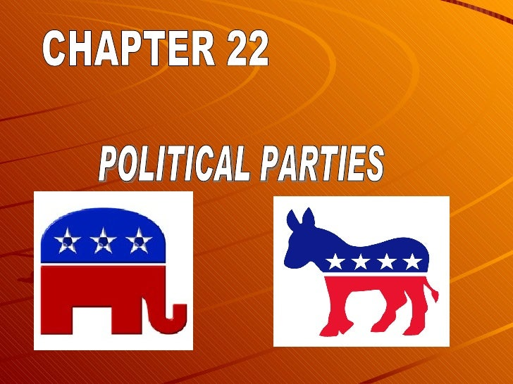 CHAPTER 22 POLITICAL PARTIES