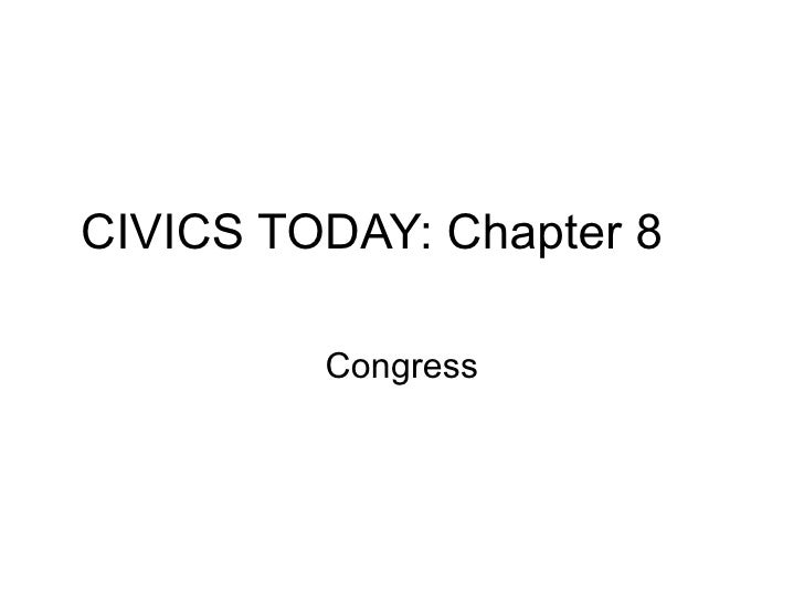 Civics & Economics   Chapter 8