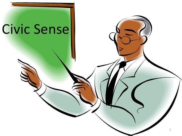 Civic sense